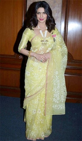 Priyanka Chopra at the Padma Awards