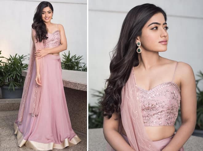 Rashmika at Movie Promotions