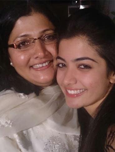 Rashmika Mandanna Family