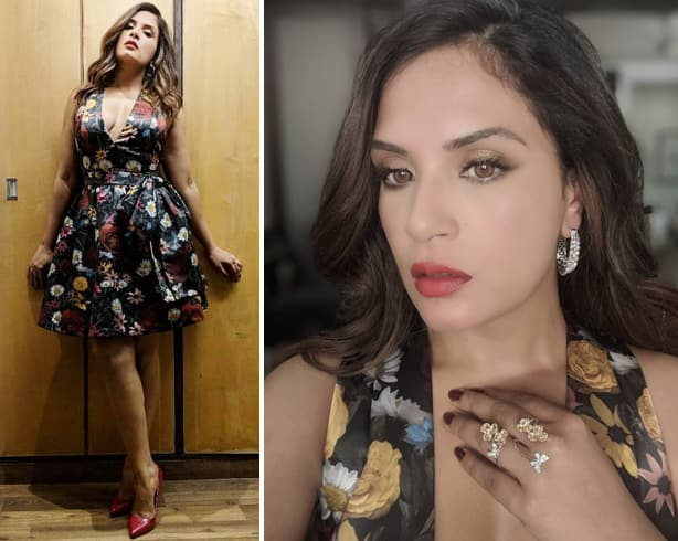 Richa Chadda Floral Dress