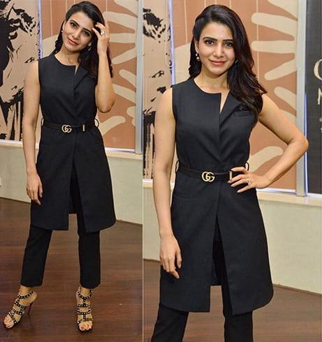 Samantha in Zara Outfit