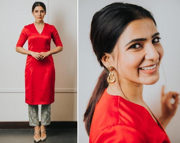 Samantha Ruth Prabhu Raw Mango Outfit