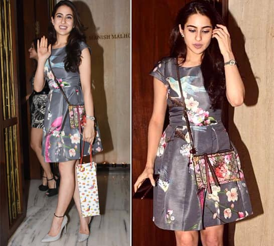 Sara Ali Khan at MM Party