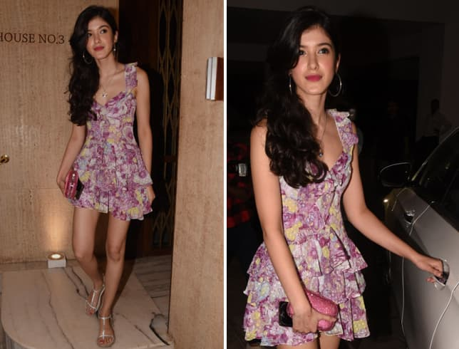 Shanaya Kapoor at MM Party