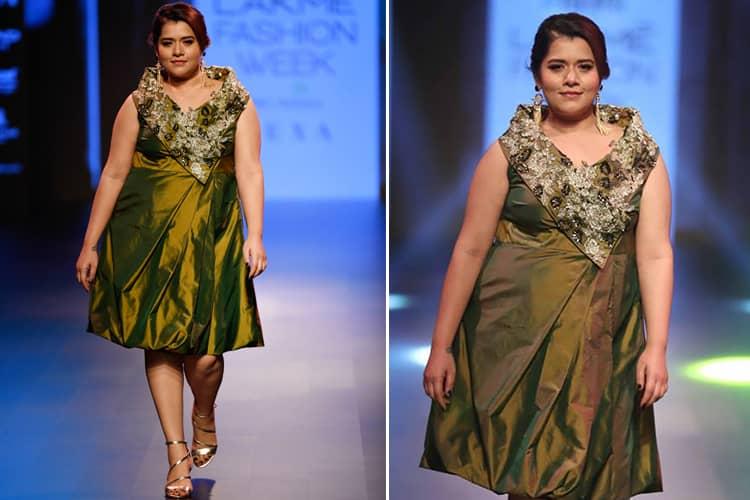 Shikha Talsania for Narendra Kumar LFW 2018