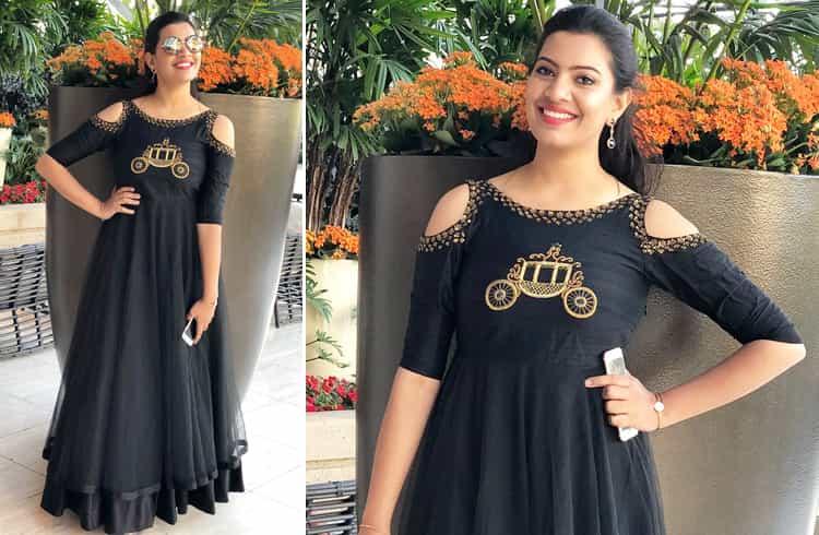 Singer Geetha Madhuri Fashion