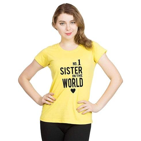 Sisiter  Message T Shirt