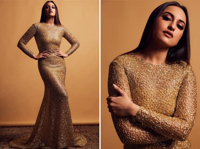 Sonakshi Sinha in Ali Younes Gown