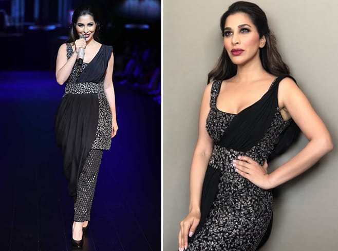 Sophie Choudry LFW 2018