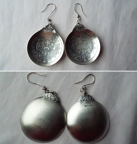 Spoon Earrings