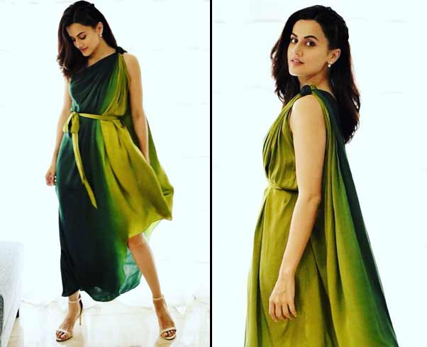 Taapsee Pannu in Urvashi Jonega Dress