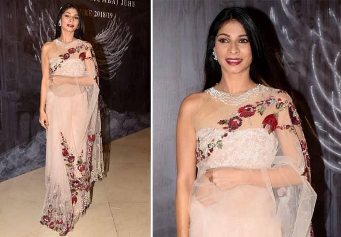 Tanishaa Mukerji Manish Couture Show