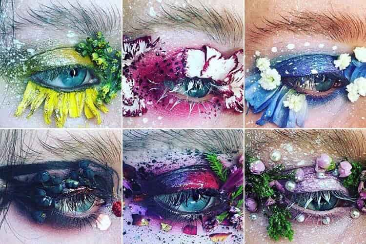 Terrarium Eyes Makeup Trend