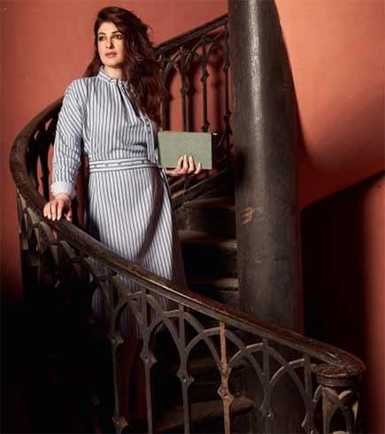 Twinkle Khanna Elle Shoot