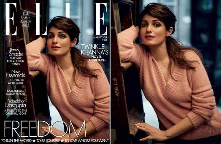 Twinkle Khanna for Elle Cover