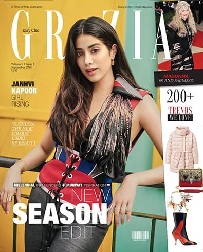 Janhvi Kapoor on Grazia September 2018