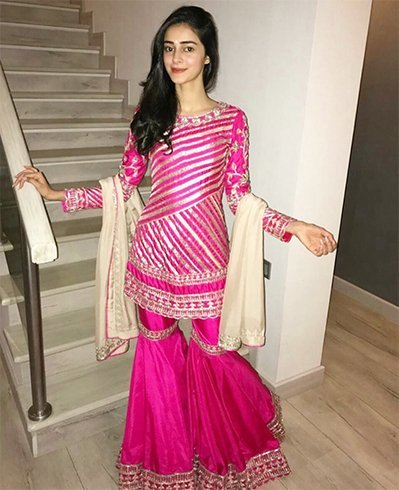 Ananya Pandey Manish Malhotra Dress