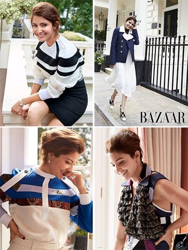 Anushka Sharma Harpers Bazaar photoshoot