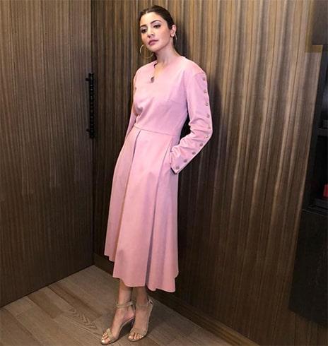 Anushka Sharma Bodice Studio outfit