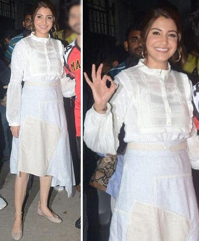 Anushka Sharma Shruti-Sancheti Dress