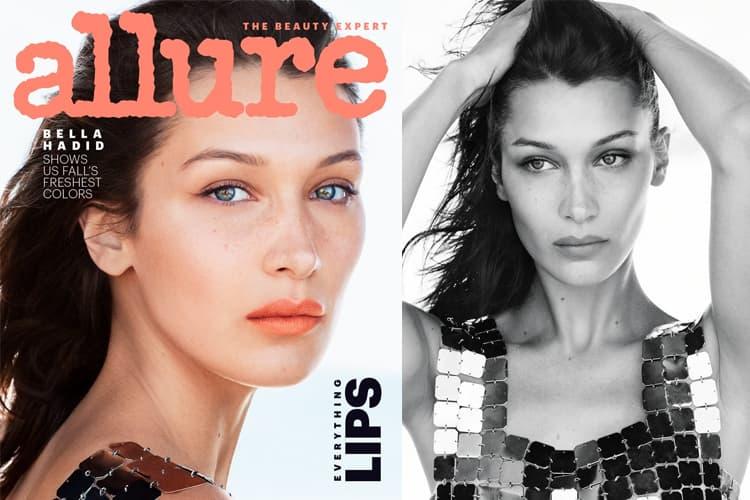 Bella Hadid for Allure Magazine Cover