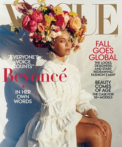 Beyonce for Vogue US Cover