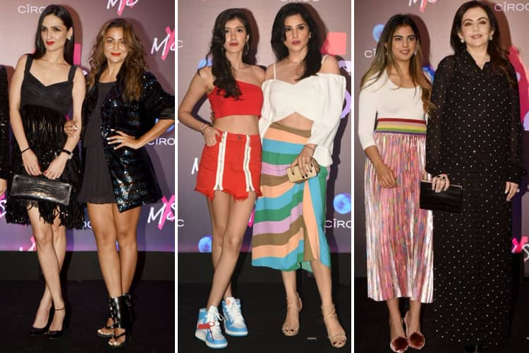 Celebs At MxS label Launch