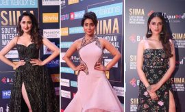 Celebs at SIIMA 2018