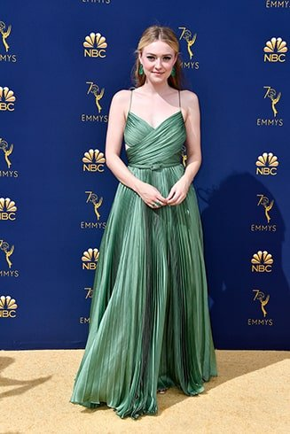 Dakota Fanning Emmy Awards 2018