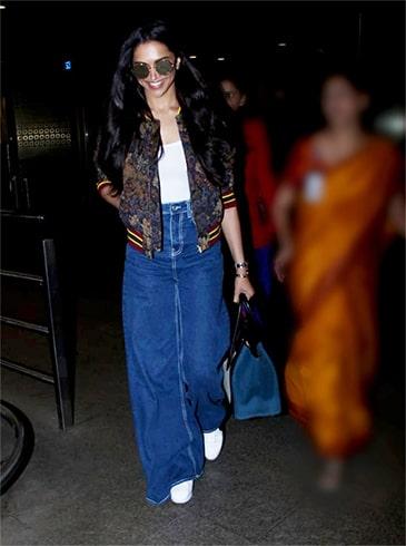 Deepika Padukone Snapped