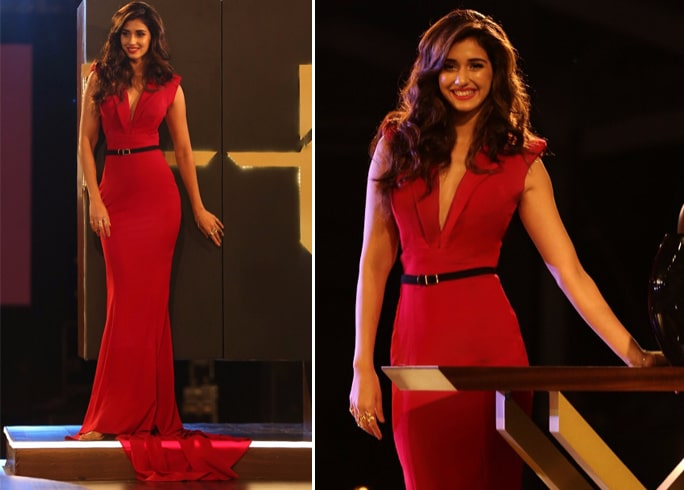 Disha Patani Nikhil Thampi Bodycon Gown