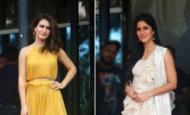 Fatima Sana Shaikh And Katrina Kaif at Thugs Of Hindustan Trailer Launch