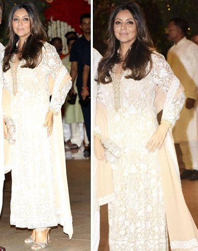 Gauri Khan Manish Malhotra Dress