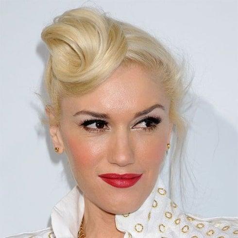 Gwen Stefani Quiff Hair