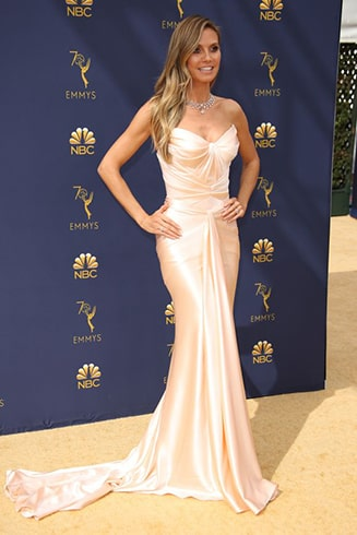 Heidi Klum Emmy Awards