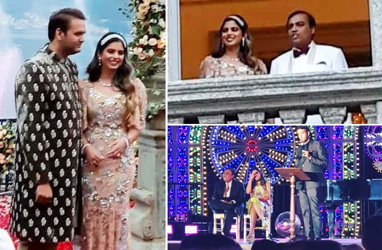 Isha Ambani and Anand Piramal Engagement Party