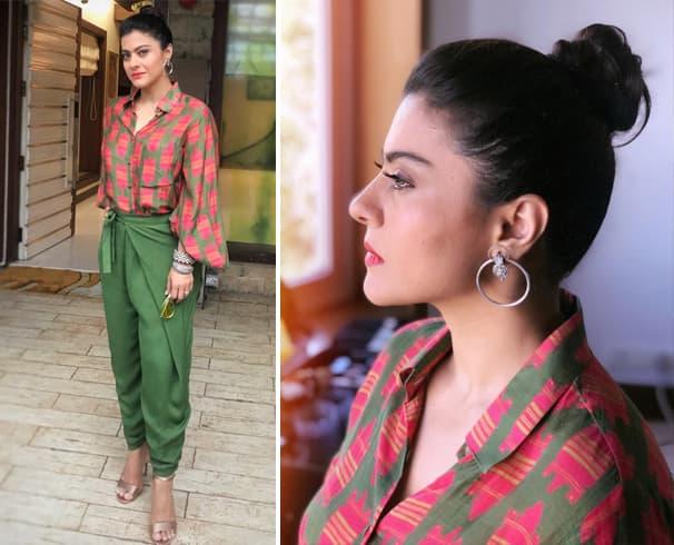 Kajol in Masaba Outfit