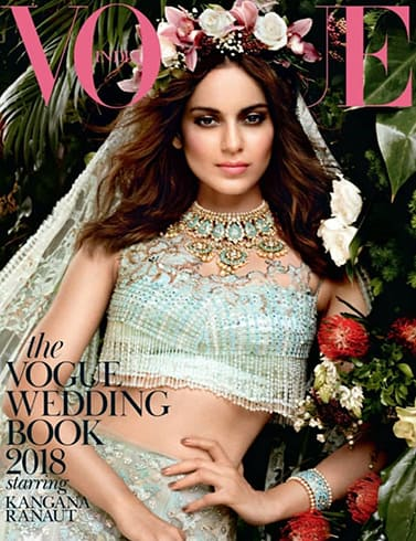 Kangana Ranaut On Vogue Wedding