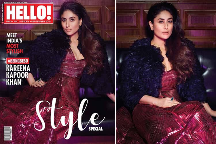 Kareena Kapoor on Hello September 2018
