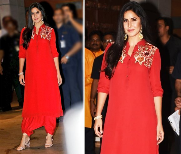 Katrina Kaif Tarun Tahiliani Dress
