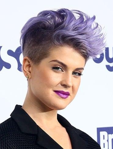 Kelly Osbourne Pompadour Hair