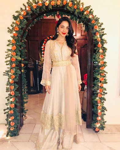 Kiara Lal Advani Manish Malhotra Dress