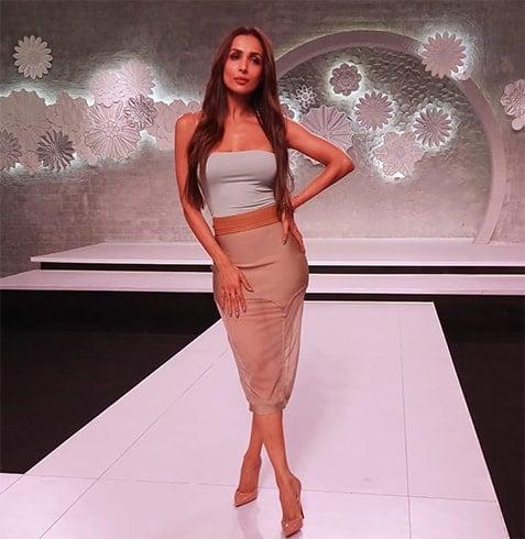 Malaika Arora at Indias Next Top Model