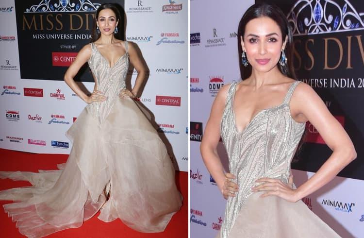 Malaika Arora Gaurav Gupta gown