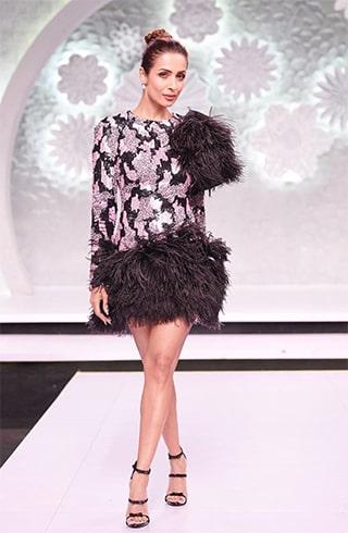 Malaika in Yolan Cris outfit