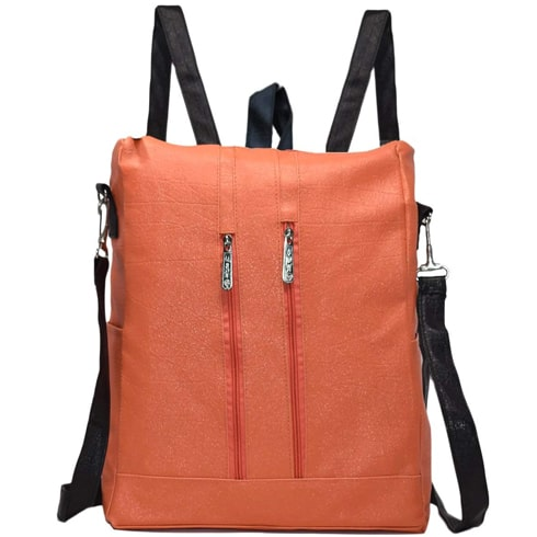 Multipurpose Orange Backpack
