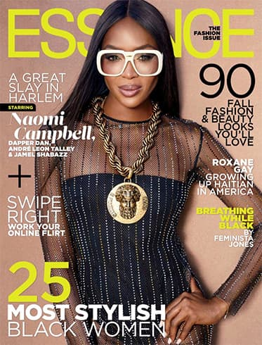 Naomi Campbell for Essence Magazine