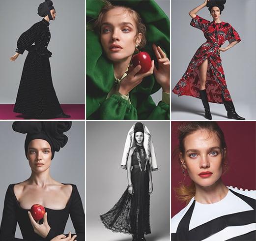 Natalia Vodianova S Moda Shoot