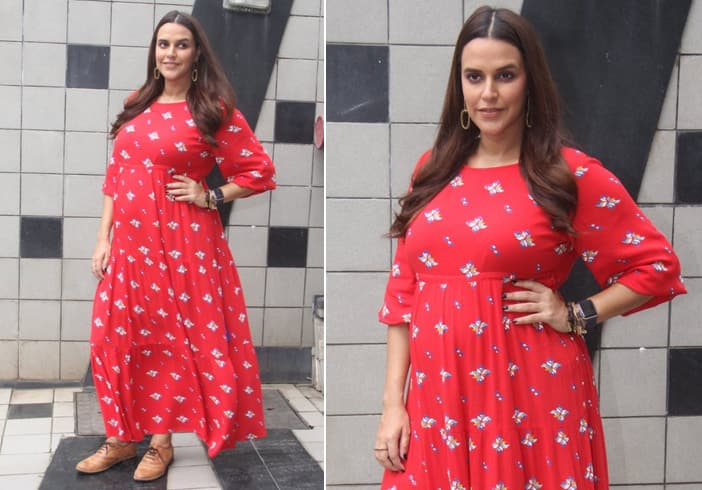 Neha Dhupia Maxi Dress