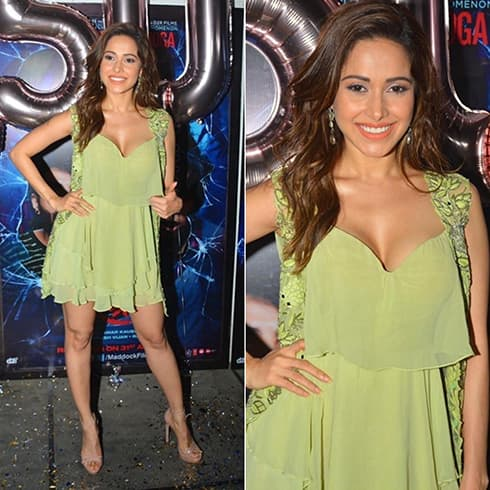 Nushrat Bharucha Arpita Mehta mini dress